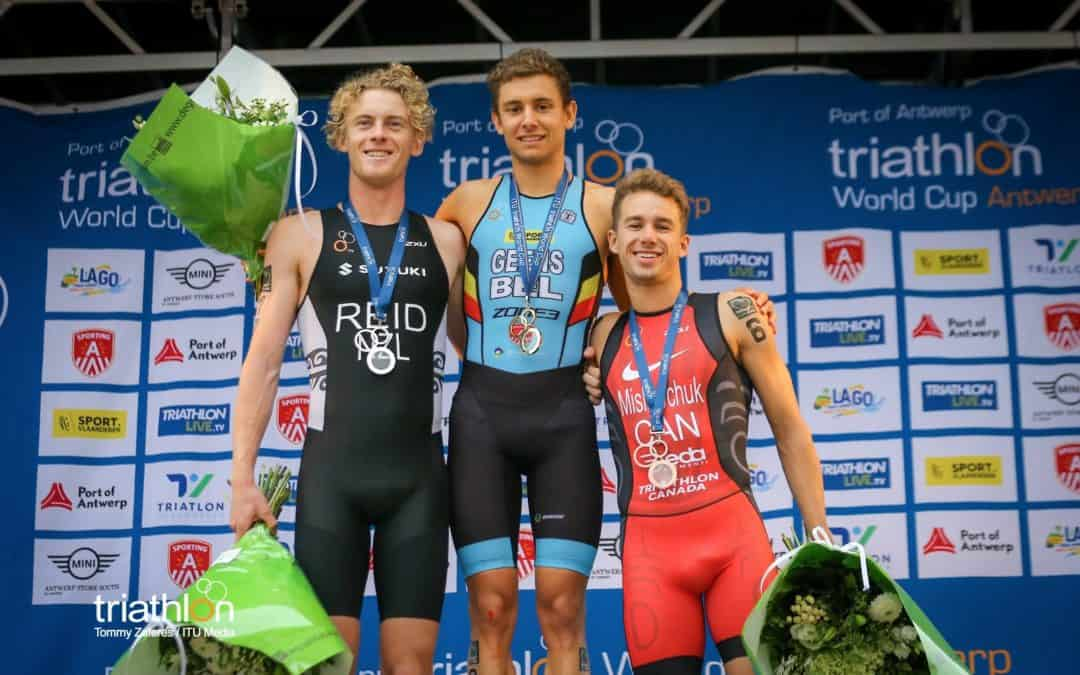 Canadian Triathletes Celebrate First Career Silver and Bronze Medals in World Cup Action
